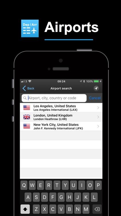 mi Flight Board Pro & Tracker screenshot-3