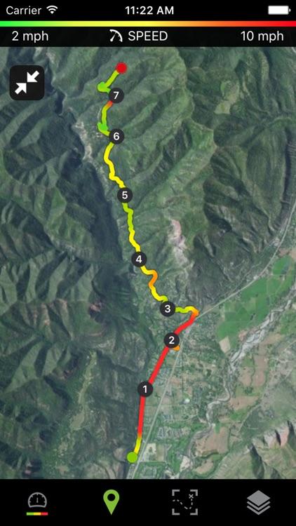 Runtastic Mountain Bike GPS screenshot-4
