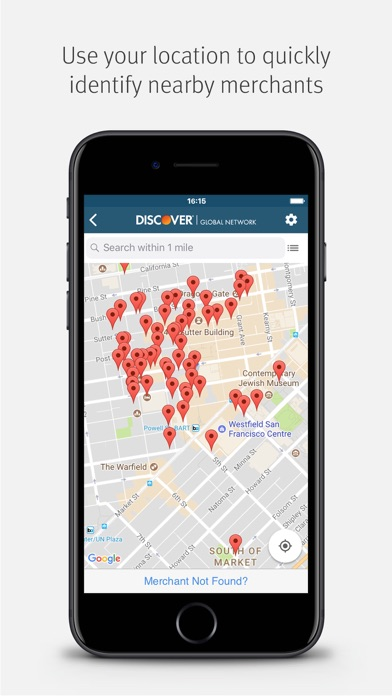 Merchant Referral Tool by Discover Financial Services (iOS