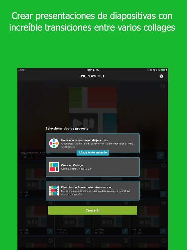 PicPlayPost - editor de videos en App Store
