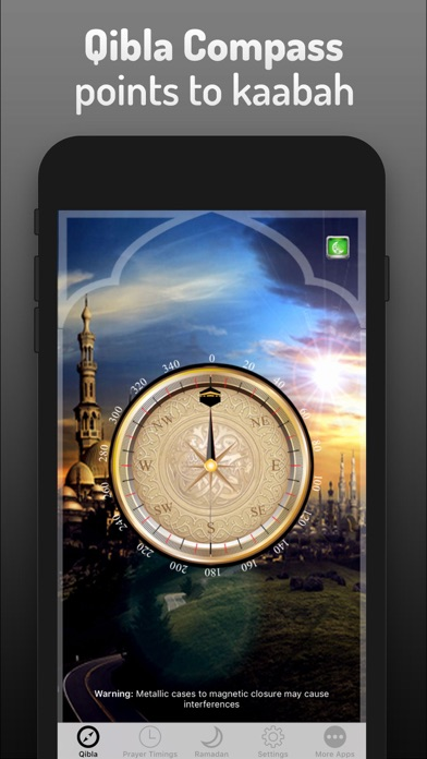 Islamic Qibla - Prayer Times screenshot 3