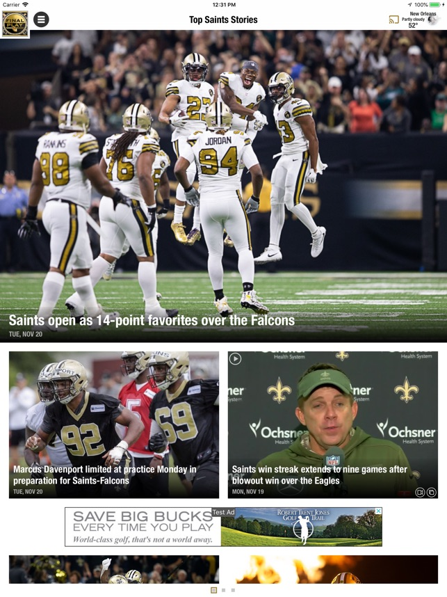 7cc0219c85f  Final Play: Saints News on the App Store