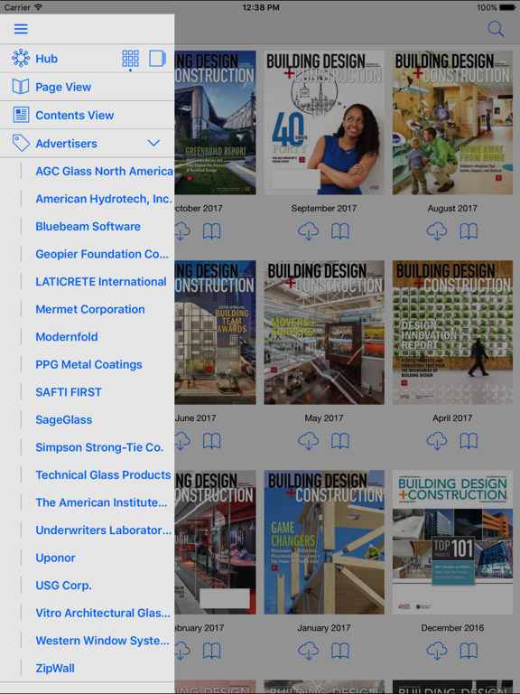 Building Design+Construction Magazine screenshot