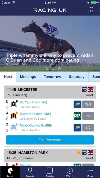 Racing UK – Live horse racing