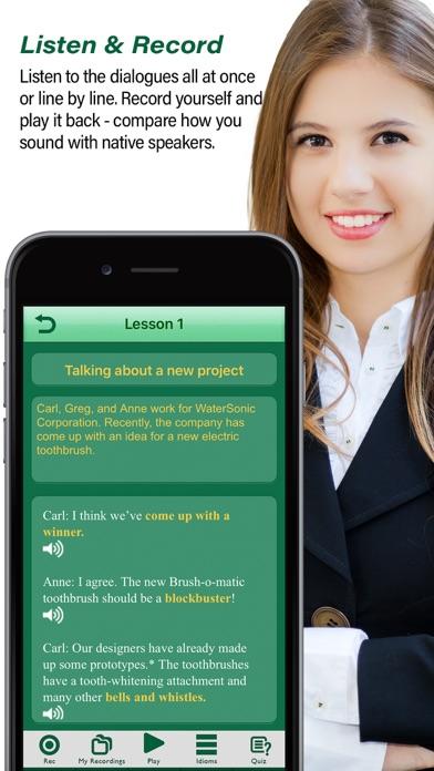 Speak Business Englishのスクリーンショット3