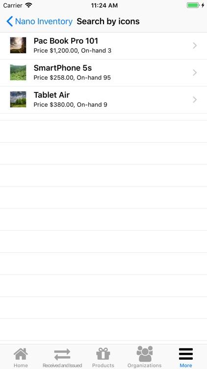 Nano Inventory screenshot-8