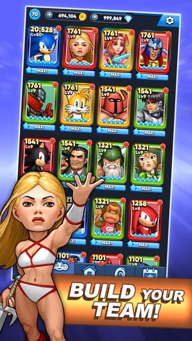 SEGA Heroes: Match 3 RPG Game screenshot 3