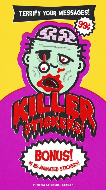 Killer Stickers • Series 1 screenshot-0