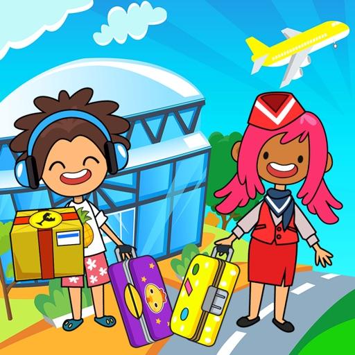 My Pretend Airport - Kids Imaginary Travel Town