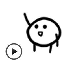 Animated Weird Emoji Sticker