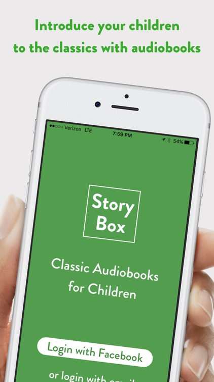 Storybox Audiobooks for Kids by Chris Sutcliffe
