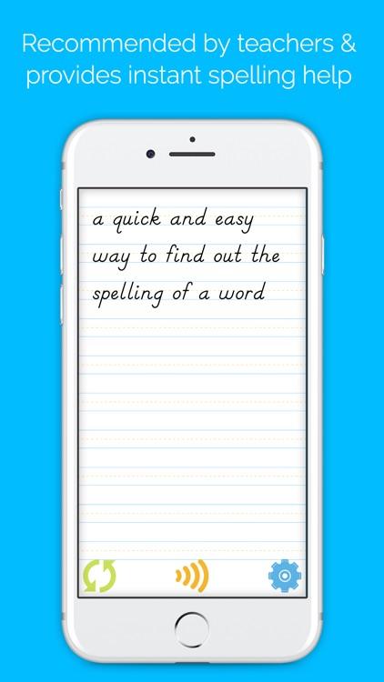 Easy Spelling Aid + Translator & Dyslexia Support