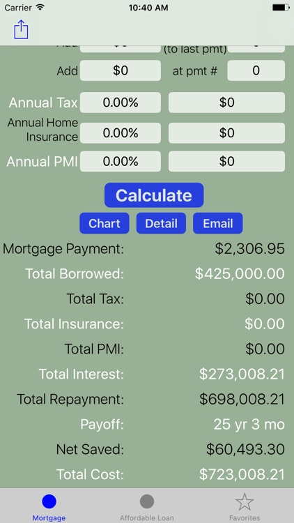 Mortgage Calculator - Amortization, Home Loan Calc