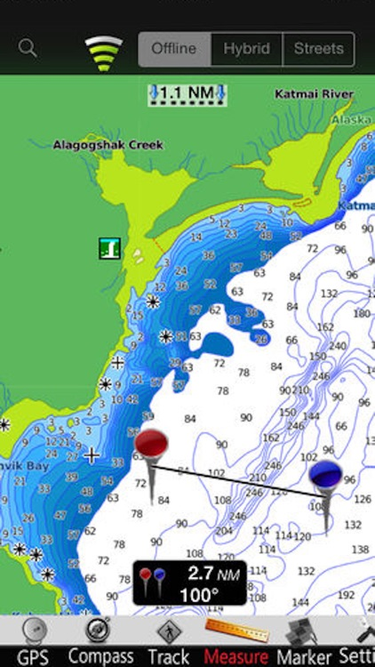 Alaska SW GPS Nautical Charts screenshot-3