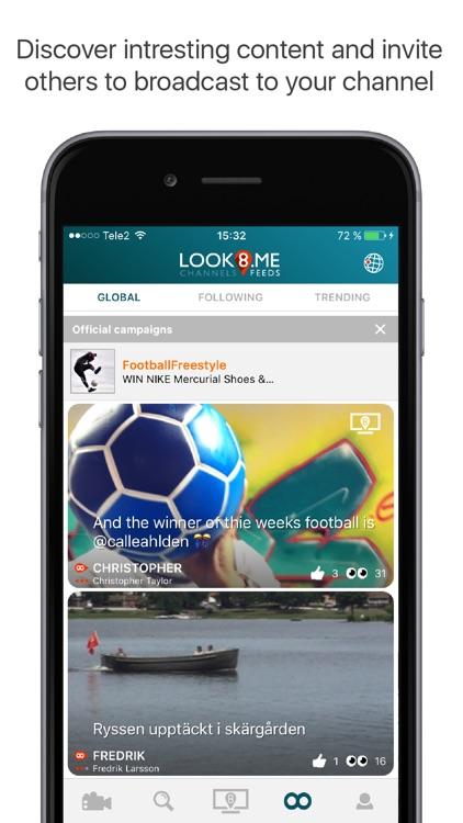 LOOK8 - Live Video Communities screenshot-4