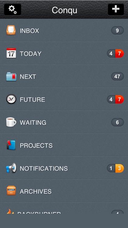 Conqu for iPhone