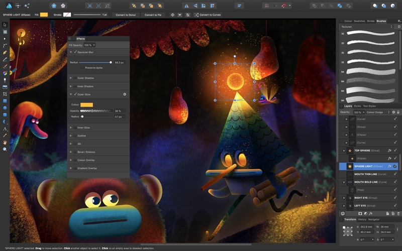 Screenshot #3 for Affinity Designer