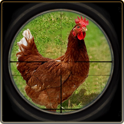 Chicken Hunt Sniper shooting