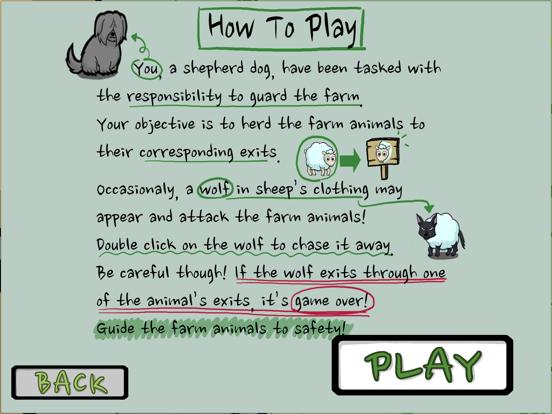 Farm Guard: Sheep Dog Edition screenshot #4