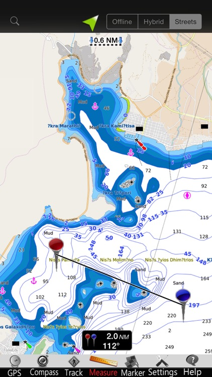 Greece West GPS Nautical Chart