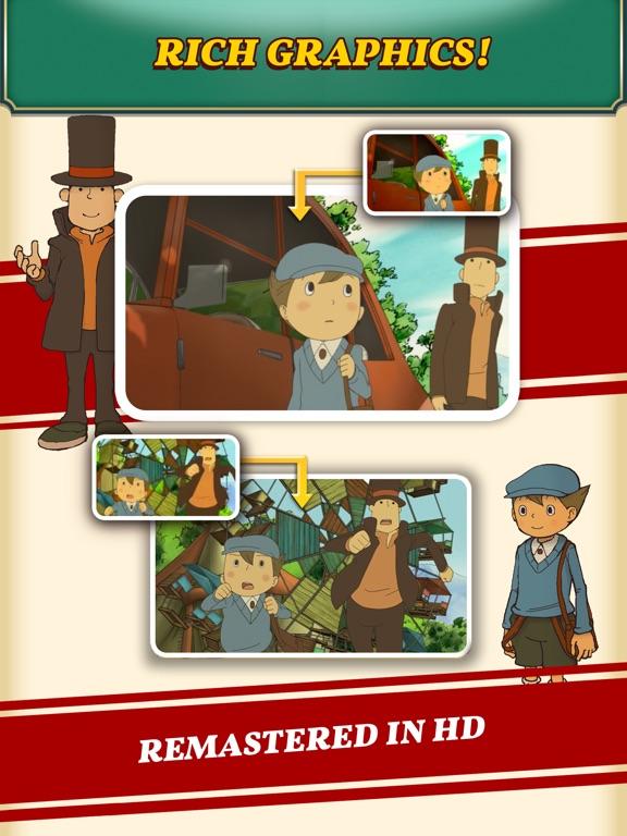 Layton: Curious Village in HD screenshot #5