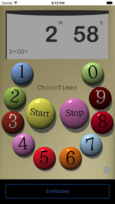 チョコタイマーのおすすめ画像1