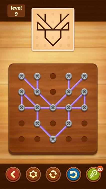 Line Puzzle: String Art screenshot-5
