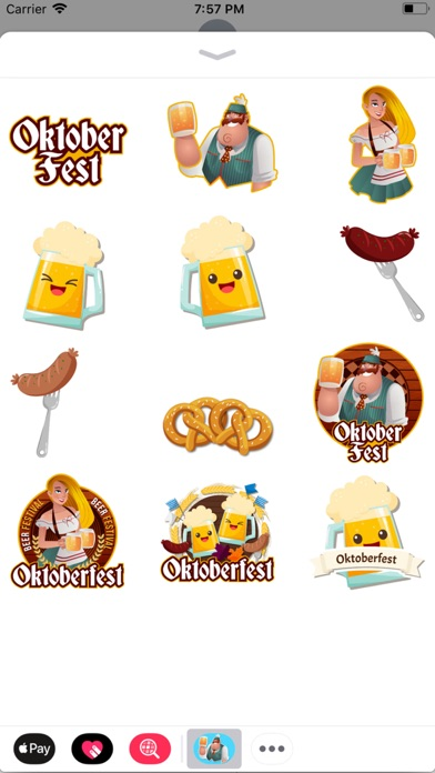 Animated Oktoberfest Stickers screenshot 2