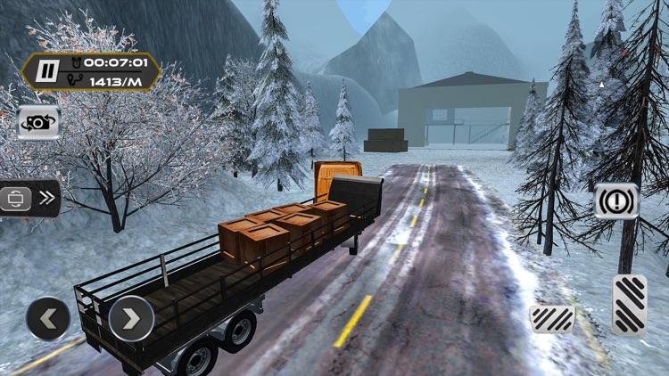 Extreme Truck Driver Uphill - Crazy 3D Sim 2017 screenshot-4