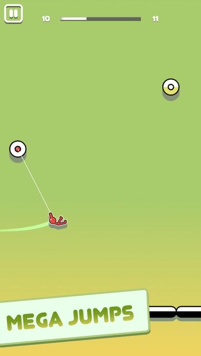 Screenshot of Stickman Hook App