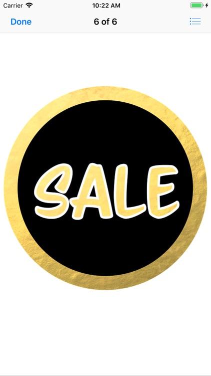Sale Sticker Pack screenshot-5