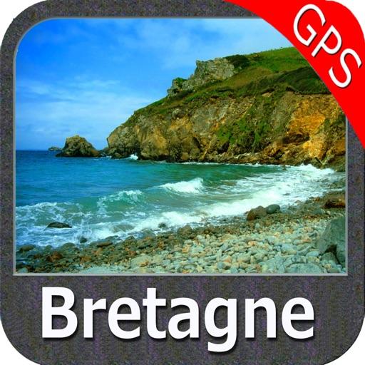 Brittany Nautical Charts GPS