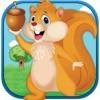 Speedy Squirrel Wall Nut Hunt Race Against Traffic Challenge