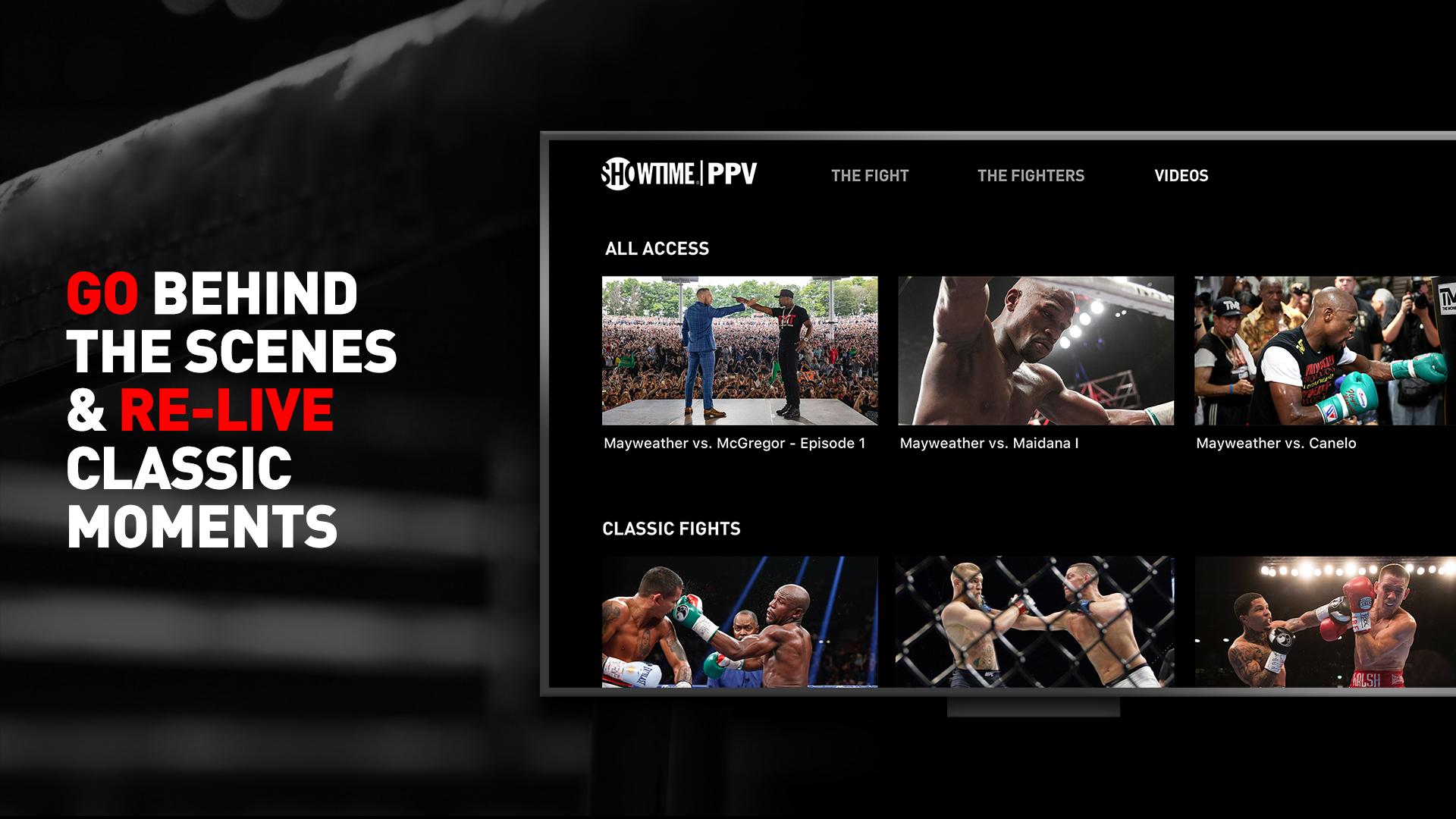SHOWTIME PPV- Mayweather vs. McGregor- Stream Live screenshot 11