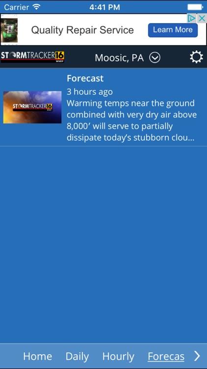 WNEP Stormtracker 16 Weather screenshot-3