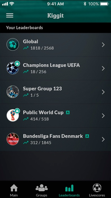 Kiggit: Social Soccer Betting-2