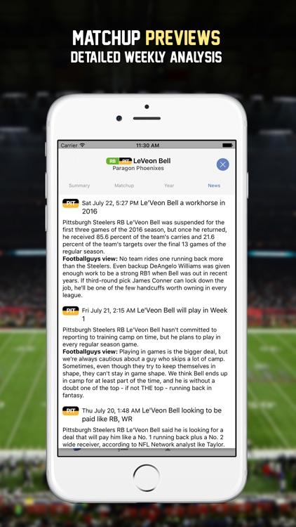 Lineup Dominator 2017 screenshot-3