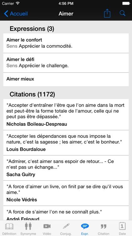 Dictionnaire Linternaute screenshot-4