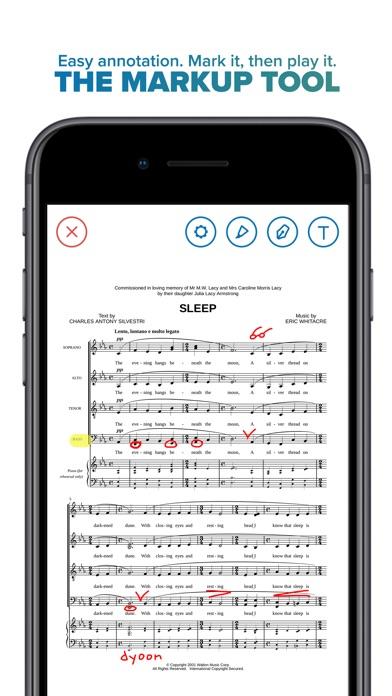 Musicnotes Screenshot