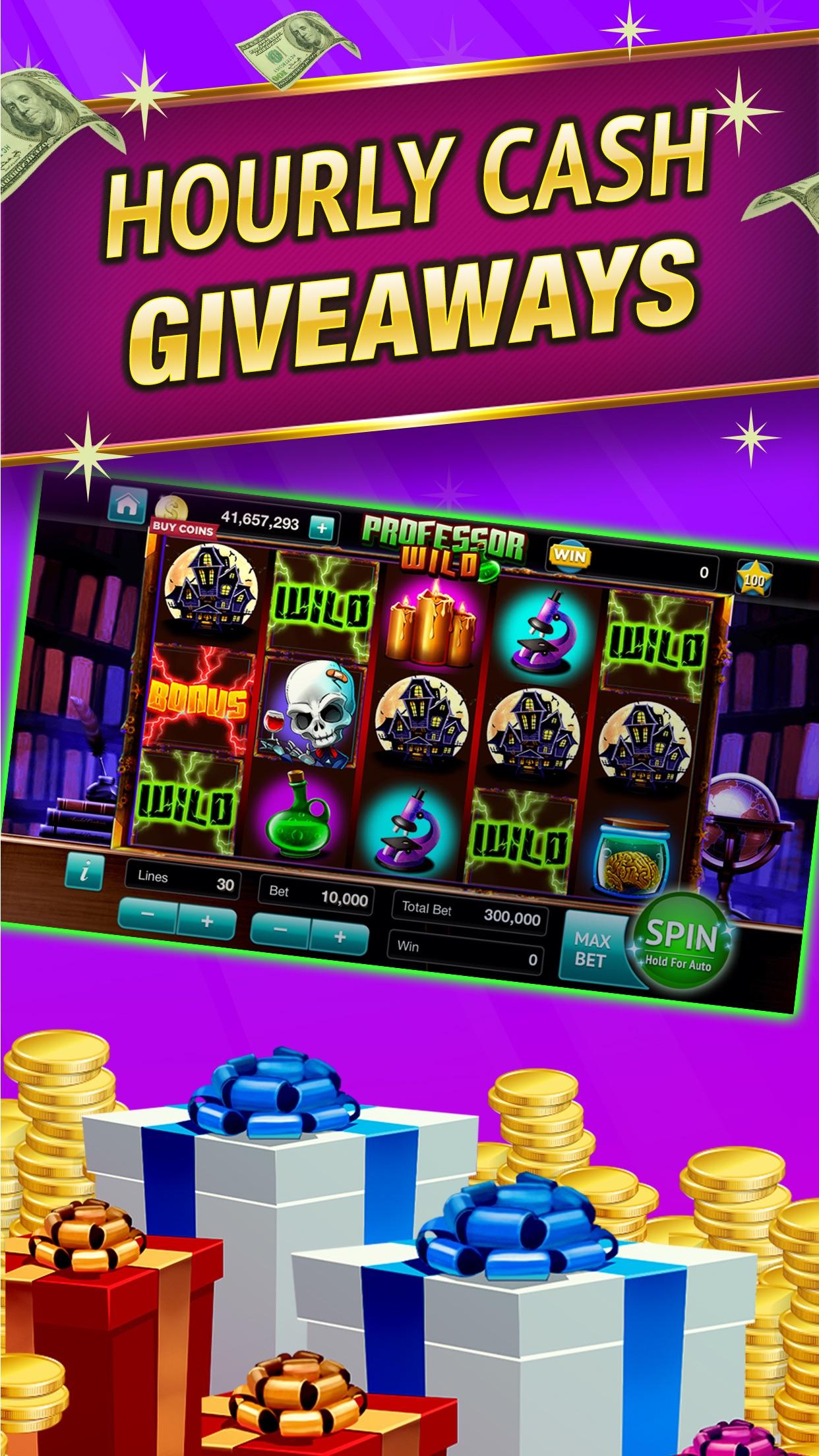 SpinToWin Slots & Sweepstakes Screenshot