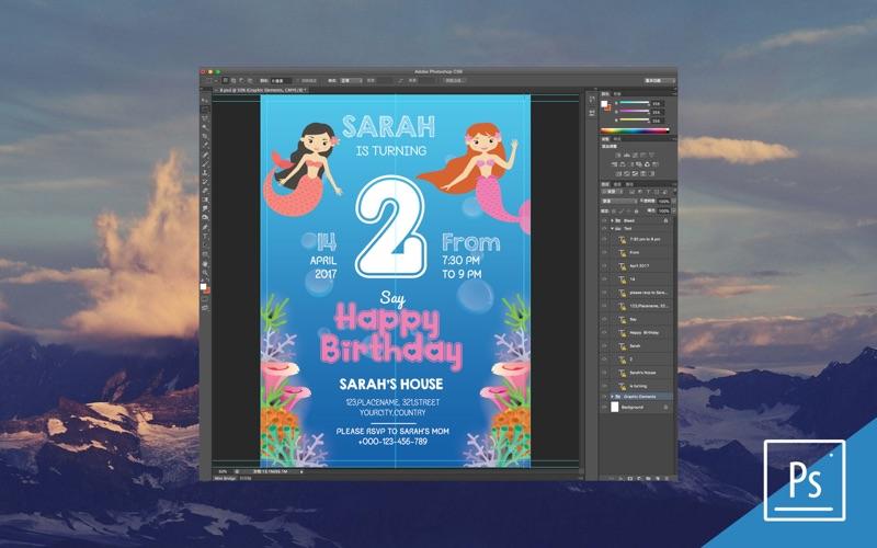 Brochure PSD file design