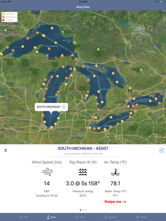 Great Lakes Boating Weather screenshot 11