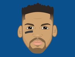 Download the OFFICIAL Andrew Harris, #33 of the Winnipeg Blue Bombers, sticker pack