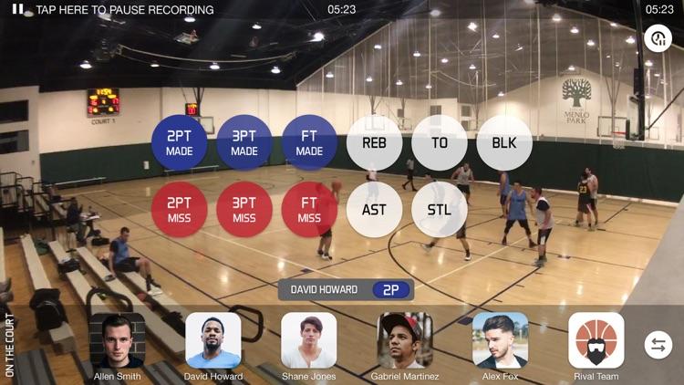 GTH Basketball Stat Tracker screenshot-3