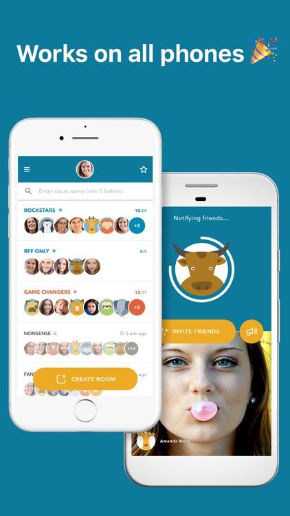 Zooroom – Group Video Chat screenshot-4