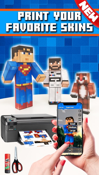 Skins AR for Minecraft screenshot two