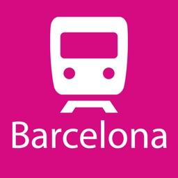 Barcelona Rail Map
