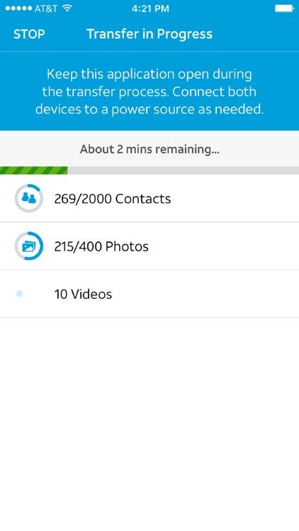 AT&T Mobile Transfer screenshot-3