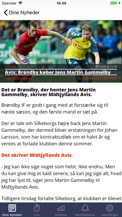Tipsbladet screenshot-1