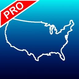 Aqua Map US - Marine Chart GPS